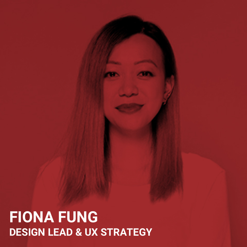 FIONA FUNG DESIGN LEAD & UX STRATEGY